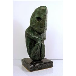 Max Ernst  Original, limited Edition Bronze - Crounching Figure
