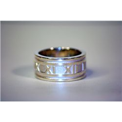 Unisex Stylish  Love Me Not  Tiffany Silver Ring