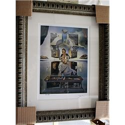 Salvador Dali Signed Limited Edition - The Madonna Of Port Ligat