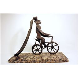 Salvador Dali Enchanting Limited Edition Bronze- Sentimental Colloquy  II