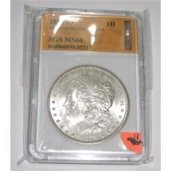 1898-O Morgan Silver Dollar *RARE MS-66 CERTIFIED BY SGS* Serial #660066898.05317!!