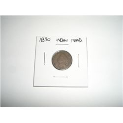 1890 Indian Head Penny *PLEASE LOOK AT PICTURE TO DETERMINE GRADE - NICE COIN*!!