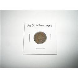 1903 Indian Head Penny *PLEASE LOOK AT PICTURE TO DETERMINE GRADE - NICE COIN*!!