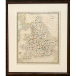 John Dower, Map of England and Wales, Engraving