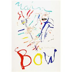 Willem de Kooning, Rainbow: Thelonius Monk, Lithograph