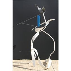James Wolfe, Lindos, Painted Steel Sculpture