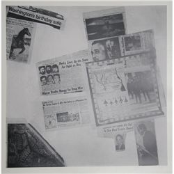 Robert Rauschenberg, Features from Currents, #57, Hand-Printed Silkscreen