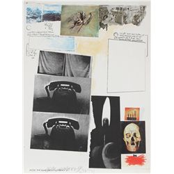 Robert Rauschenberg, Poster for Peace, Offset Lithograph