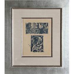 Jasper Johns, 0-9, Number 2, Lithograph