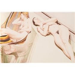Philip Pearlstein, Two Sleeping Nudes, Lithograph