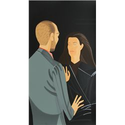 Alex Katz, Pas de Deux III - Francesco and Alba Clemente, Silkscreen