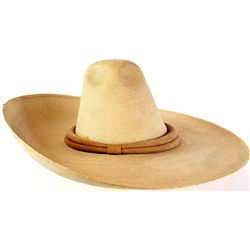 Fine vintage Mexican style straw hat by Atwood Hat Co. size 7 1/8 in very good condition, original s