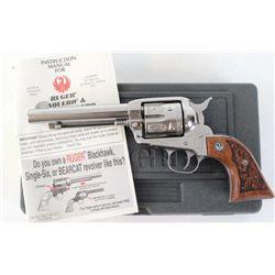 "Ruger Vaquero .45 cal. SN 58-51325 single action revolver with 5 1/2"" barrel, stainless finish with"