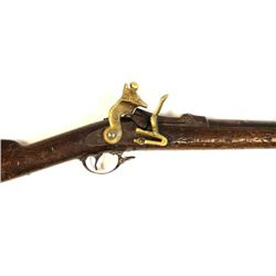 Early Hollywood prop gun based on original Springfield Trapdoor .45-70 left side of stock stamped R&