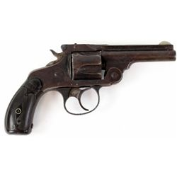 Marlin Model 1887 .38 cal. SN 6185 double action top break revolver, 3 1/4  barrel, blued finish wit