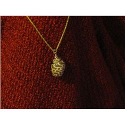 Unique Shell Gold Pendant