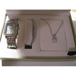 Brand New Ladies Watch with matching necklace and earrings