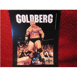 Wrestler Goldberg Autograph