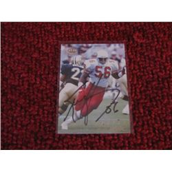 Football Ken Harvey Arizona Cardinals Autograph