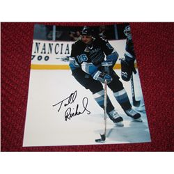 Hockey Todd Richards Las Vegas Wranglers Autograph