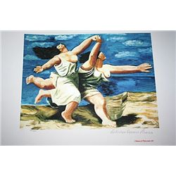 Limited Edition Picasso - Running On the Beach - Collection Domaine Picasso