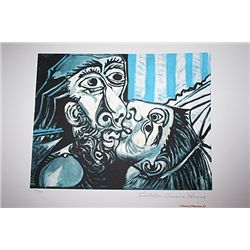 Limited Edition Picasso - The Kiss - Collection Domaine Picasso