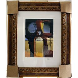 Salvador Dali Signed Limited Edition - Ruin With Head Of Medusa