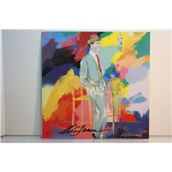 Leroy Neiman Double Signed Lithograph - Frank Sinatra