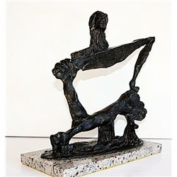 Salvador Dali Magnificent Original, limited Edition Bronze - Soft Construction With Boiled Beans