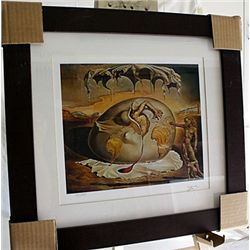 Salvador Dali Signed Limited Edition - Birh Of A New Man