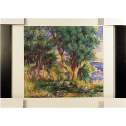 Pierre August Renoir  Limited Edition-Landscape near Menton