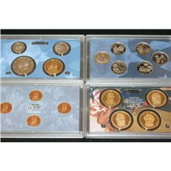 2009-S US Mint Proof Set W/State Quarter Proof Set, Presidential $1 Proof Set & Lincoln Penny Proof