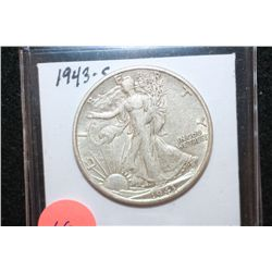1943-S Walking Liberty Half Dollar