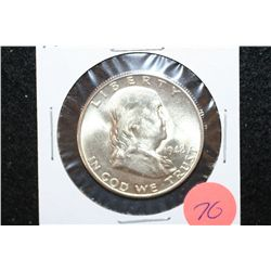 1948-D Ben Franklin Half Dollar