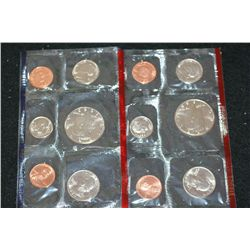 1988 US Mint Coin Set, P&D Mints, UNC