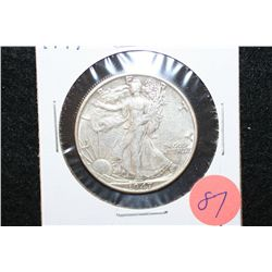 1947 Walking Liberty Half Dollar
