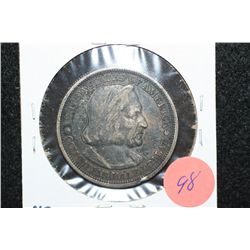 1893 US Columbian Commerative Half Dollar, Columbian Expo.
