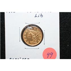 1905 Liberty $2 1/2 Gold Coin, Repaired