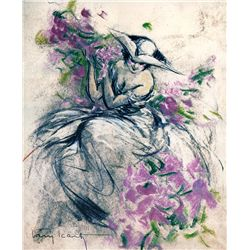 Lavender Lady-Icart - Limited Edition on Canvas