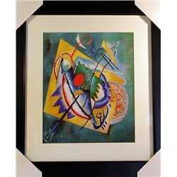 Wassily Kandinsky Limited Edition-THE RED OVAL