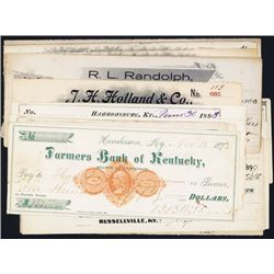 Revenue Imprinted Checks Assortment from Kentucky.