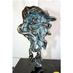 Dali Signed and Numbered Bronze Sculpture - Faun, Man-Head Horns