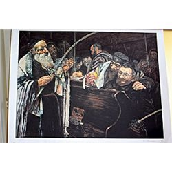 Original Lithograph by Berman