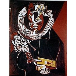 Limited Edition Picasso - Portrait Of A Painter, After El Greco - Collection Domaine Picasso