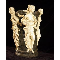 Planter Alabaster Sculpture