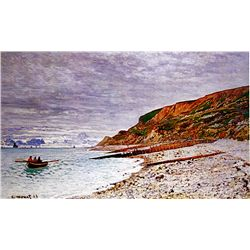 La Pointe de la Heve by Monet