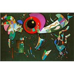 Around The Circle - Kandinsky - Limited Edition on Canvas