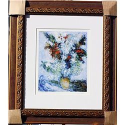 Bouqet Above City  - Chagall - Limited Edition
