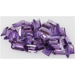 Natural 8.75 ctw Amethyst Baguette (40)