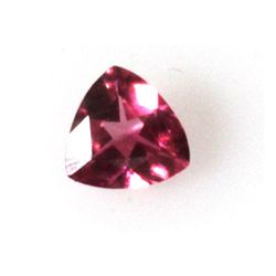 Natural 1.83ctw Purple Tourmaline Trillion Cut Stone